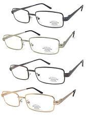 Pro Computer Anti Reflective Metal Frame UV Protect Sun Reader Reading Glasses