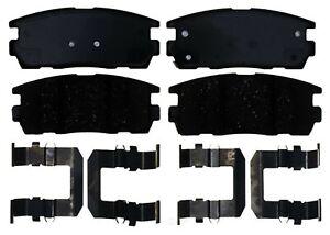 Disc Brake Pad Set-Ceramic Disc Brake Pad Rear ACDelco Pro Brakes 17D1275CH