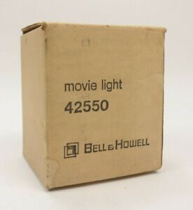 Bell & Howell 42550 Vintage Movie Light Bulb Lamp In Box