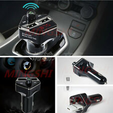 Bluetooth Car USB MP3 Player FM Transmitter Radio Handsfree Voice Prompt Number