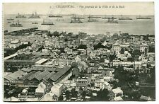 CPA - Carte Postale - France - Cherbourg - Vue Générale de la Ville et de la Rad