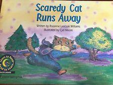 Teacher Big Book SCAREDY CAT RUNS AWAY Kindergarten 1st Oversize SHARED READ CTP