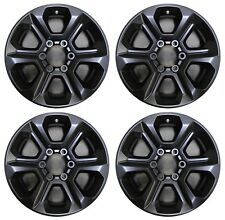 "17"" Toyota 4Runner 14 15 16 17 18 Factory OEM Rim Wheel 75153 Matte Black Set"
