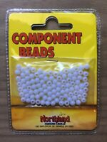 Northland Fishing Tackle - Salmon Beads - Size 4mm - White - 100/Bag