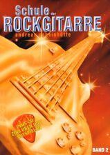 Andreas Scheinhütte Schule der Rockgitarre Band 2 Noten Tab mit CD