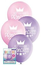 PK OF 6 FROZEN PARTY SUPPLIES BALLOONS BIRTHDAY ANNA ELSA