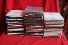 Lot 45 CD Variété Française, internationale, musique classique et divers