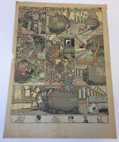 October 31, 1929 full page newspaper cartoon ~ LITTLE NEMO IN SLUMBERLAND