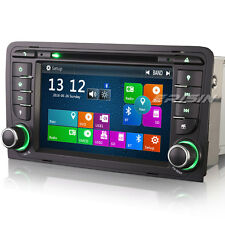 Audi A3 S3 RS3 Car Head Unit Stereo Sat Nav Bluetooth 3G Radio RDS DVR SD 7147GB