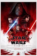 Star Wars VIII: The Last Jedi 27 x 40 double-sided authentic mint Movie Poster