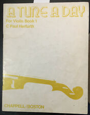 A Tune a Day for Violin, Book 1, by C. Paul Herfurth