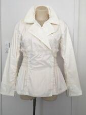 Ermanno Scervino Cream Jacket Short Trench Coat I 44