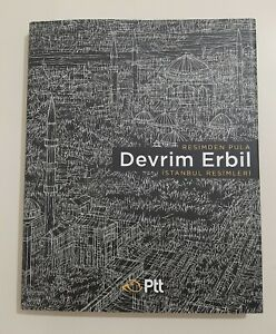 Devrim Erbil's Istanbul Paintings - Painting to Stamp