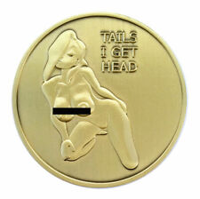 Pin up Poster Girl Good Luck Challenge Coin by Thompson Emporium