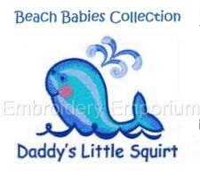 BEACH BABIES COLLECTION - MACHINE EMBROIDERY DESIGNS ON CD OR USB
