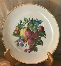 Vintage 1970\u2019s Naaman Israel Porcelain Serving Platter With Fruit Design