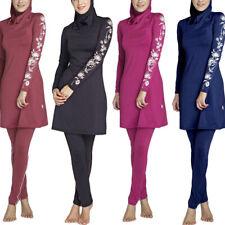 Muslim Swimwear Lady Modesty Swimsuit Full Cover Islamic Beachwear Arab Burkini