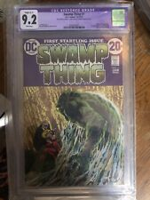 Swamp Thing 1 cgc 9.2 And Anniversary Issue 50