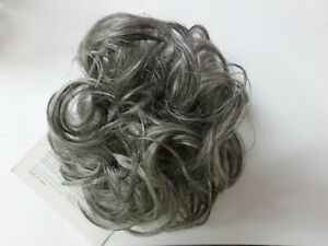 Curly Hair Scrunchie Pony Tail Holder SHADES OF GREY  CHOICE OF COLORS