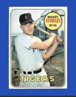 1969 Topps Mickey Stanley #13 Baseball Card - Detroit Tigers HOF