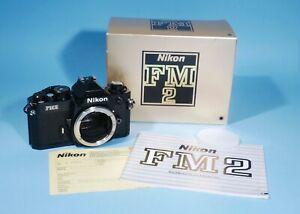 Nikon FM2N 35mm SLR Film Camera Black *  Near Mint * Boxed * Fully Working