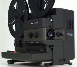 Super 8mm Projecteur de Cinéma Bauer T510 Stummfilmprojektor