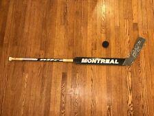Pekka Rinne Nashville Predators Goalie Autographed Montreal Used Game Stick