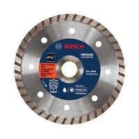 "Bosch DB4542C 4-1/2"" Premium Turbo Rim Diamond Abrasive Blade for Angle Grinders"