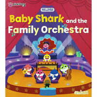 Preschool Bedtime Story Book: BABY SHARK AND THE FAMILY ORCHESTRA - NEW