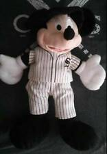 New listing Chicago White Sox Disney Mickey Mouse In Baseball Uniform RaRe Plush Stuffed Toy