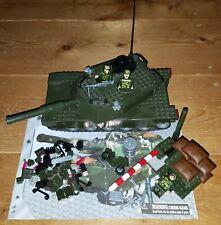 Best-Lock Construction Toys US Army Abrams Tank Built Kit No.3259