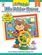 Colorful File Folder Games, Grade K: Skill-Building Center Activities for Langua