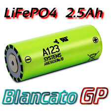A123 ANR26650M1-B 3.3V 2.5Ah LifePO4 Rechargeable Battery batteria litio Lithium