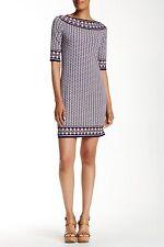 Max Studio Women's Printed Shift Dress Size M $98
