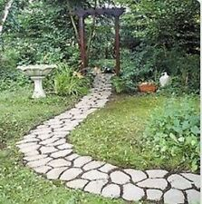 Cobblestone Mold Pathway Sidewalk Walkway Concrete Stepping Cement Stone Path Fr