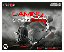 TRUST 20408 SUPER STYLISH GXT 322 HIGH QUALITY DYNAMIC GAMING HEADSET IN BLACK