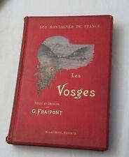 1900nd, Les Vosges, Les Montagnes de Frances (Mountains of France), Fraipont HB