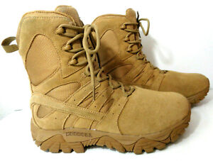 """MERRELL MOAB 2 Defense 8"""" Tactical US 7W Coyote Leather Military Boots J099355W6"""