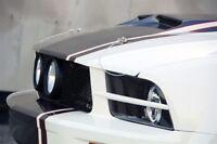 05-09 Ford Mustang TruFiber Urethane Headlight Splitters!!! TF10024-LG29-UR