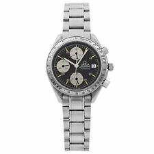 Omega Speedmaster Stainless Steel Black Dial Automatic Mens Watch 3513.50.00