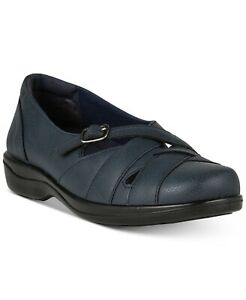 Size 9.5N Easy Street Comfort Wave Sync Flats Navy New in Box