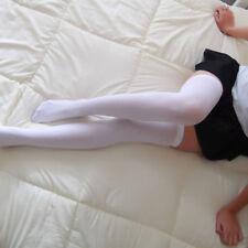 Women Knit Long Boot Socks Over Knee Thigh High School Girl Uniforms Stocking