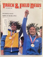 1980 Track and Field News November         Alberto Salazar, Grete Waitz