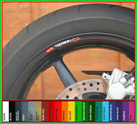 8x Aprilia RSV4 Wheel Rim Decals Stickers - rsv 4 factory