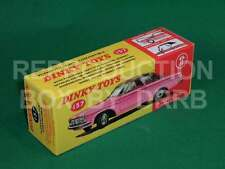 Dinky #137 Plymouth Fury Convertible - Reproduction Box by DRRB