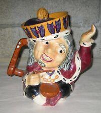 Vtg Toby Mug / Tea Pot Two Faced Old King Cole Staffordshire Shorter & Sons U.K.