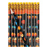 Pack of 12 - Space Solar System Pencils - Party Bag Fillers Teacher Schools