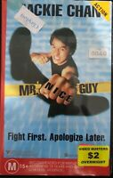 Jackie Chan - Mr. Nice Guy - PAL VHS Ex Rental Video Busters Video Tape