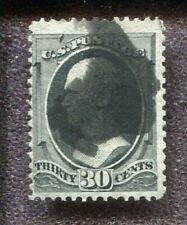 Scott No. 154 - 30c Black