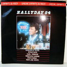 JOHNNY HALLYDAY -Hallyday 84- Spécial Les Enfants du Rock -Philips